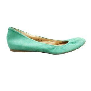 J.CREW Suede Leather Ballet Flats Size 7